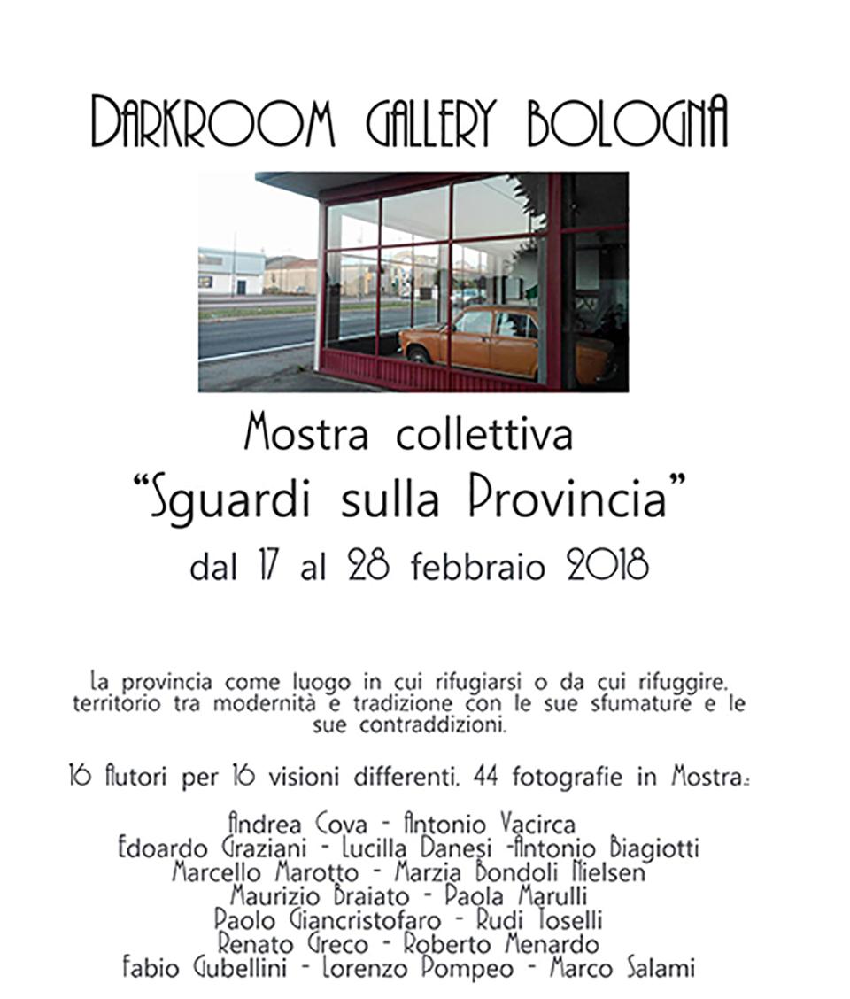 Sguardi sulla provincia - Paolo Giancristofaro - Darkroom Gallery Bologna