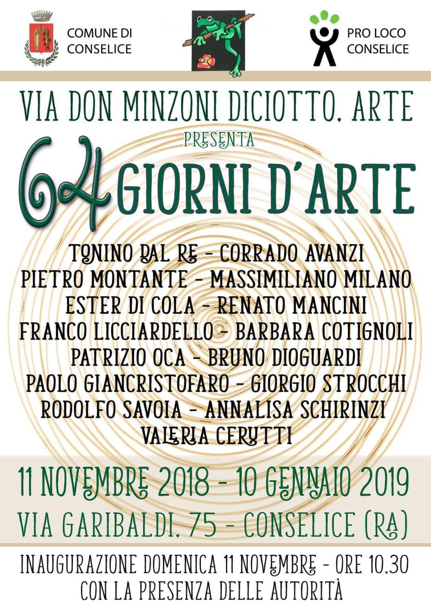 64 giorni d'arte - Conselice - Paolo Giancristofaro
